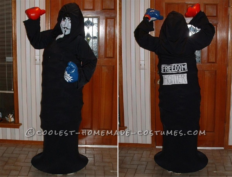 Anonymous Hacktivist Costume (No One Got it, Do You?)