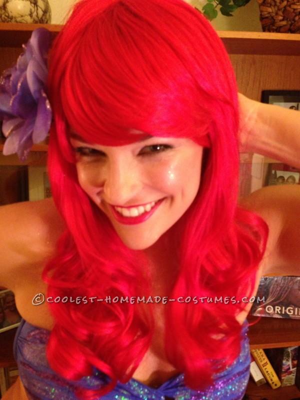 Homemade Ariel Costume (for a High School Principal!)