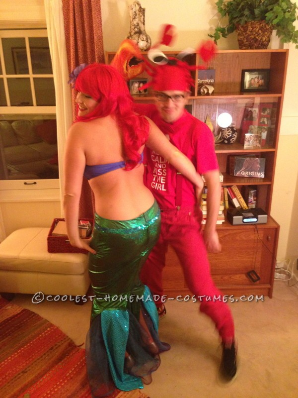 Homemade Ariel Costume (for a High School Principal!) - 5