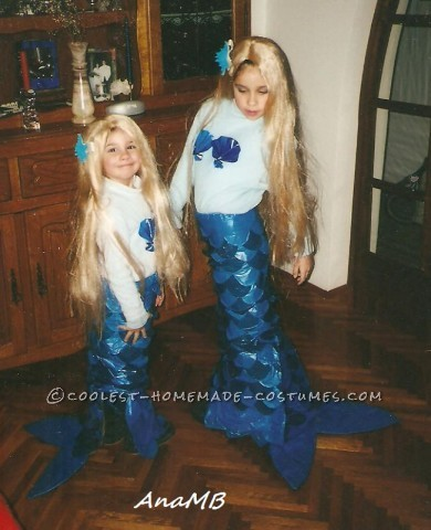 Ariel-Inspired Little Mermaid Costumes