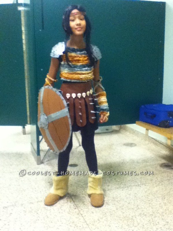 Excellent Astrid the Dragon Slayer Costume for a Girl