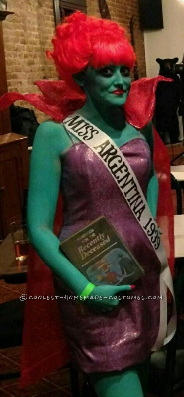 Award-Winning Miss Argentina Halloween Costume