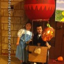 Awesome Hot Air Balloon for Child's Wheelchair Costume