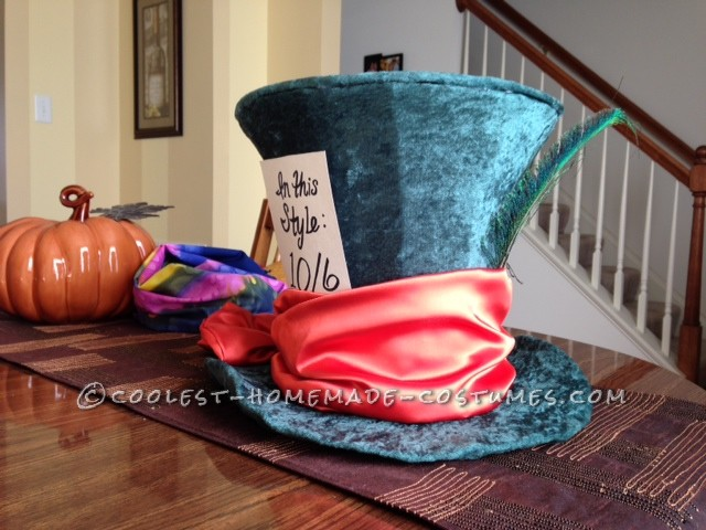 Homemade Mad Hatter Hat