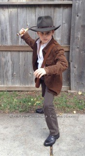 Indiana Jones Costume for 9-Year-Old Boy