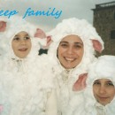 Family of Sheep Costumes