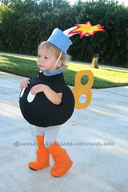 Bob-Omb Toddler Halloween Costume - 1