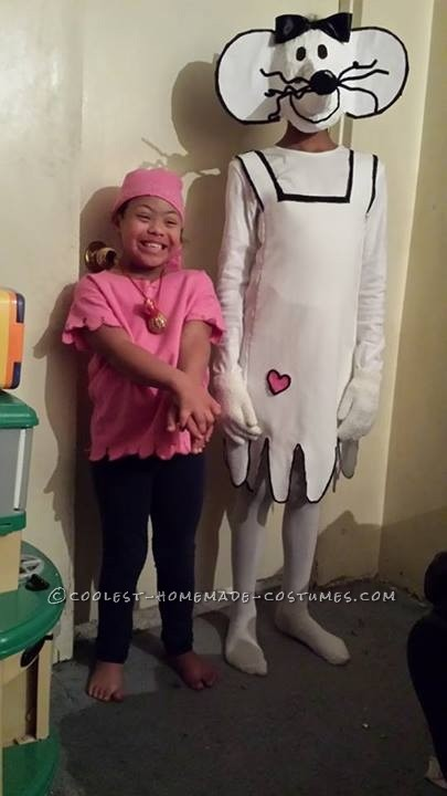 Original Homemade Babymouse Costume for a Girl - 1