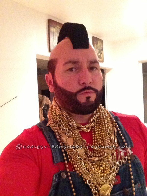 Bad Ass Mr.T Halloween Costume