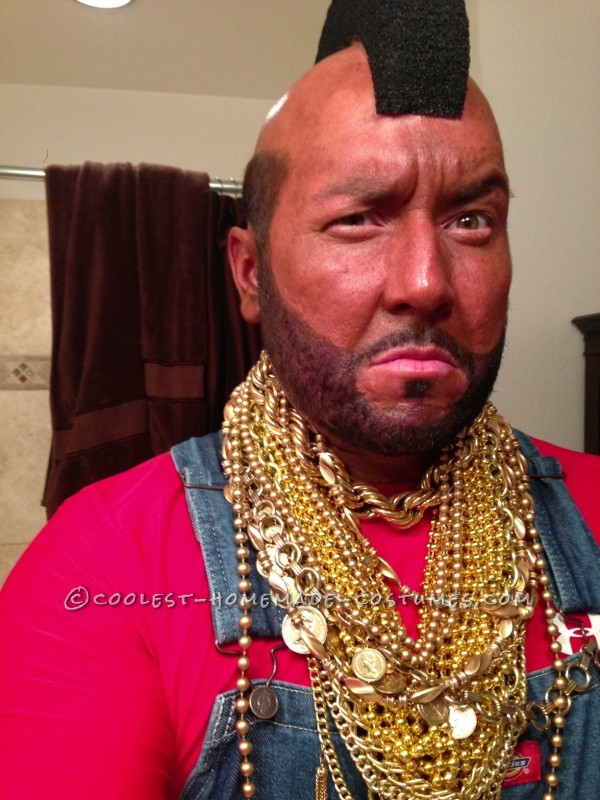 Bad Ass Mr.T Halloween Costume