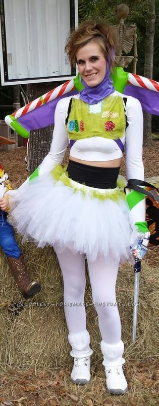 Sexy Ballerina Buzz Lightyear Costume