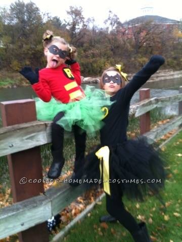 Girly Batman and Robin Costumes