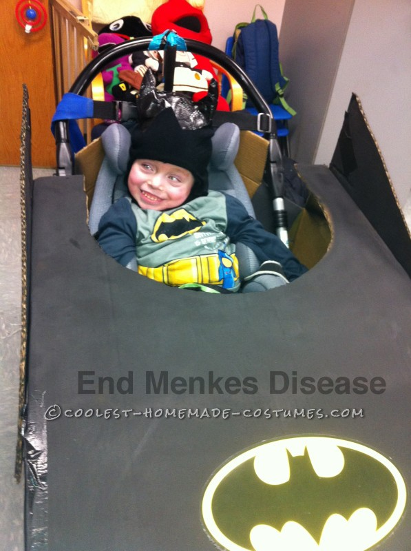 Batman fights Menkes Disease