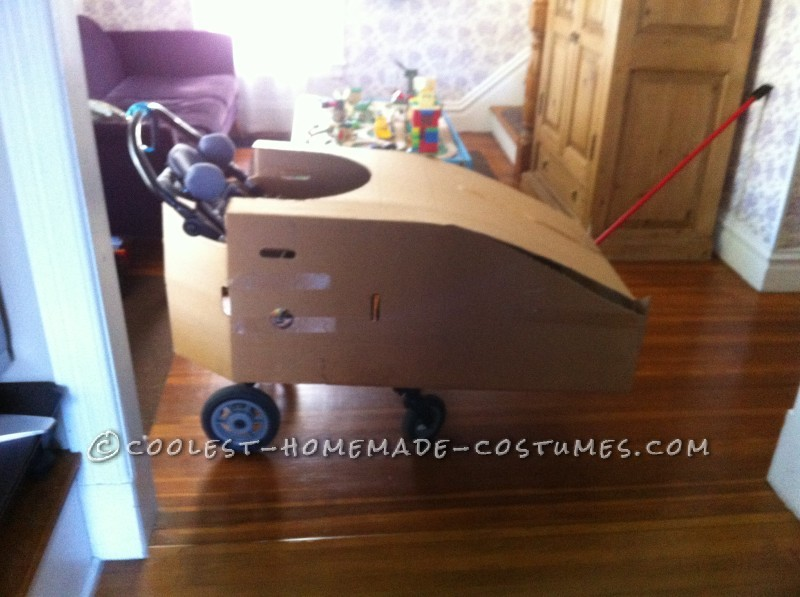 Batmobile Wheelchair Costume - 4