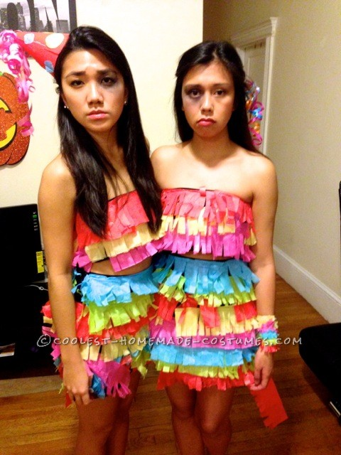 Beaten Pinata Costume - Super Cheap and Very Fun
