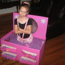 Beautiful Ballerina in a Jewelry Box Costume