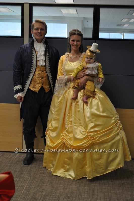 Beauty and the Beast with Baby Lumiere Family Costume - 3