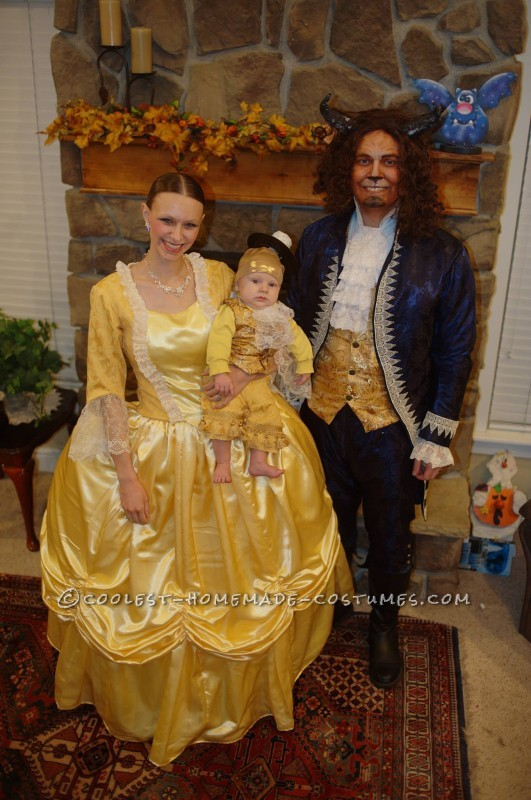 Coolest 30 Homemade Beauty And The Beast Costumes