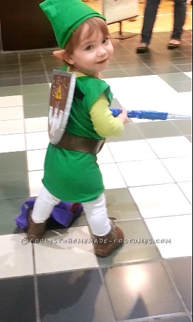 Best Baby Link Costume for a Toddler - 3
