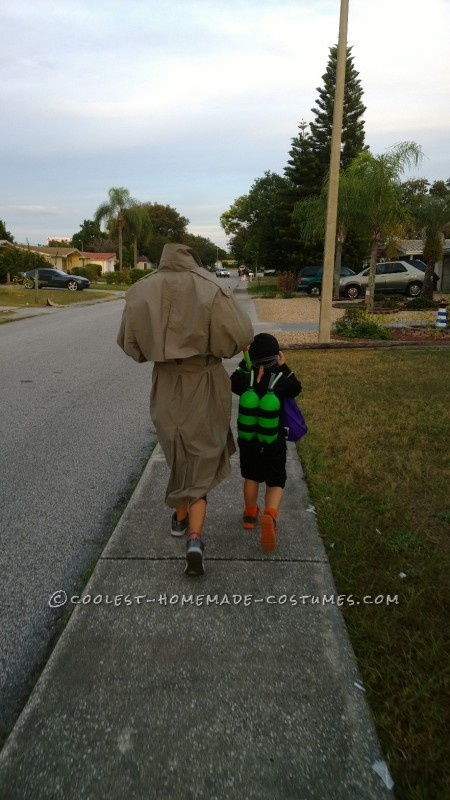 walking on halloween