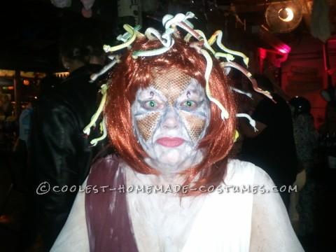 Cool DIY Medusa Halloween Costume