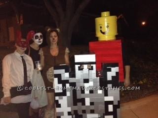 Iron Golem and Lady Lego