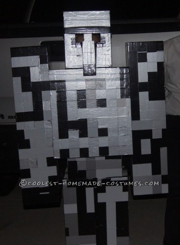 Best Homemade Iron Golem Costume from Minecraft