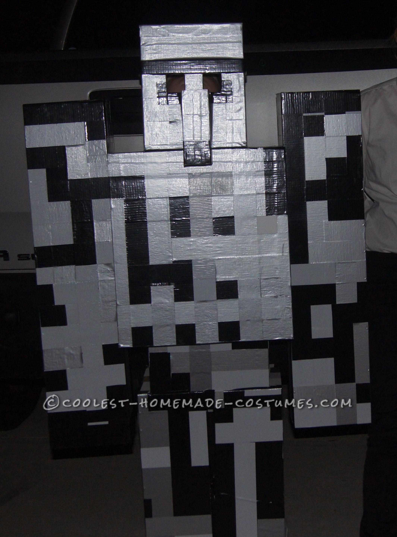 Best Homemade Iron Golem Costume from Minecraft