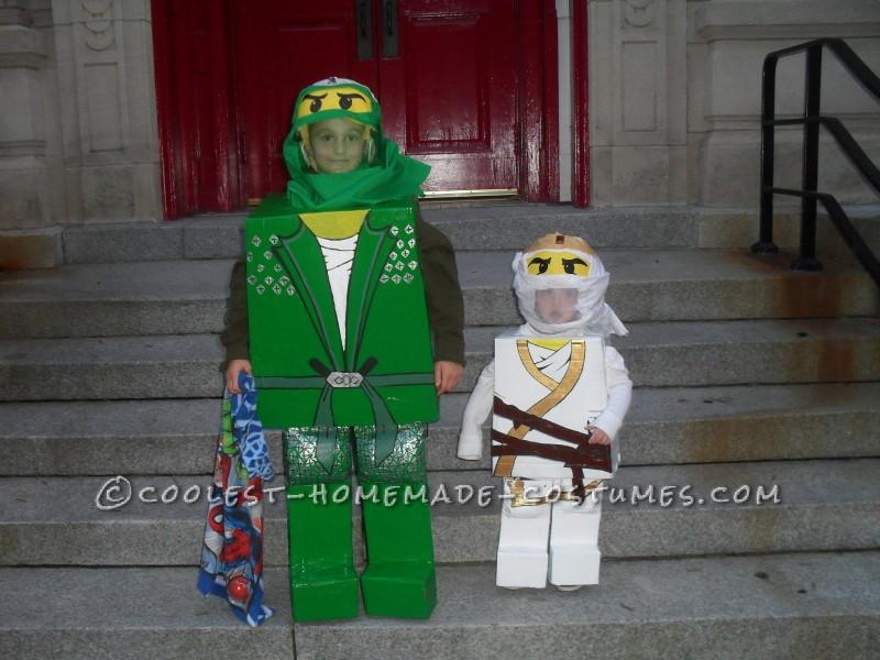 Best DIY Lego Ninjago Brothers Costumes