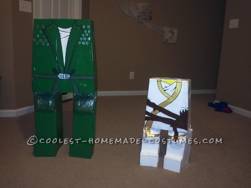 Best DIY Lego Ninjago Brothers Costumes - 2
