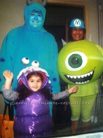 Best Monsters Inc. Costumes Ever!