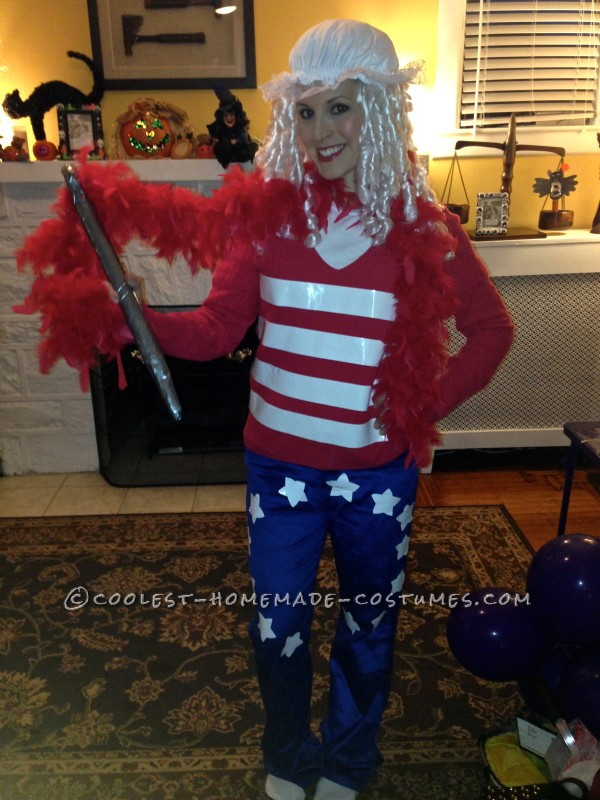 American Flag Creator Betsy Ross Costume - 2013 Style