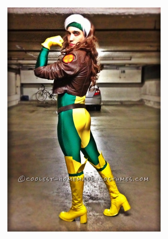 Rogue in full hair and makeup