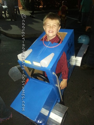 Big Rig Truck Halloween Costume for a Boy