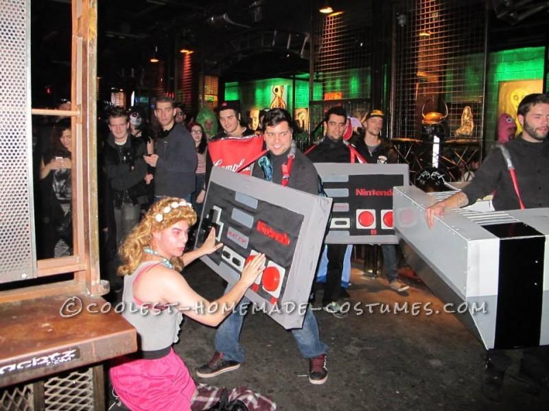Over-the-Top Group Halloween Costume: Biggest Nintendo Ever!