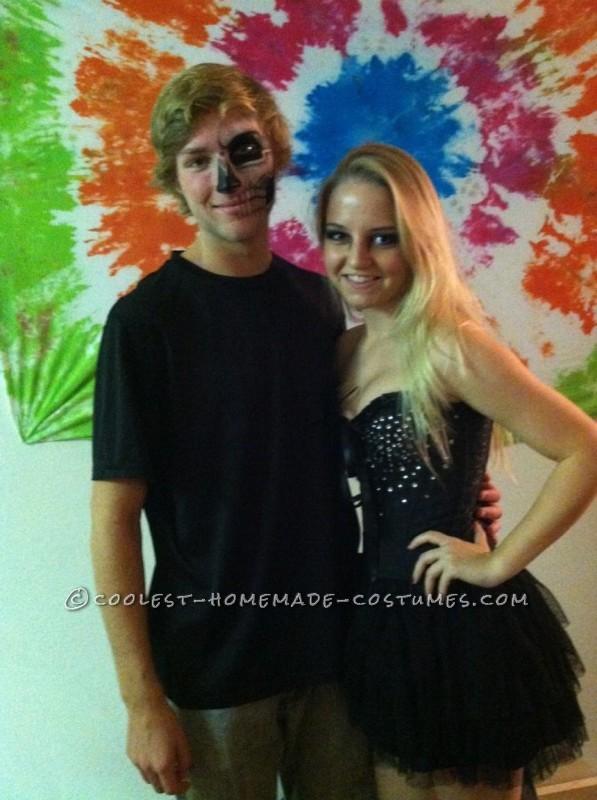 Black Swan Costume and Makeup