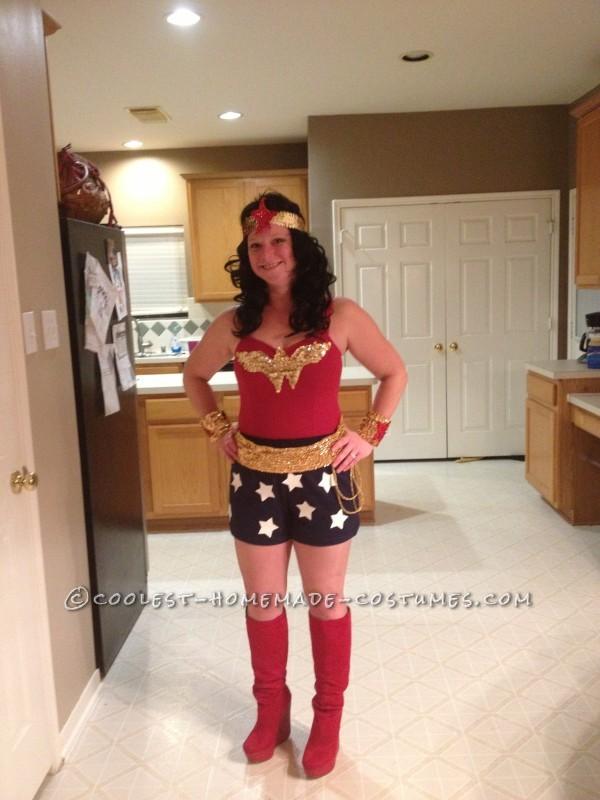 Bling Me Up Wonder Woman Halloween Costume - 1