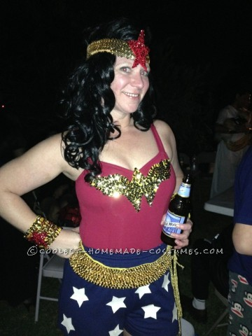 Bling Me Up Wonder Woman Halloween Costume