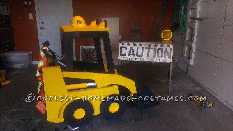 Awesome Bobcat Stroller Wrap for Toddler Obsessed with Construction Equipment - 4