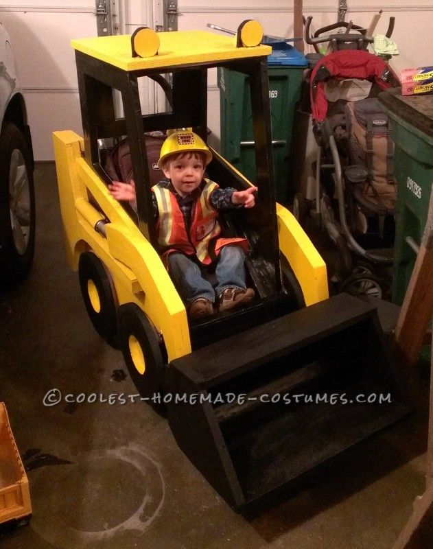Awesome Bobcat Stroller Wrap for Toddler Obsessed with Construction Equipment