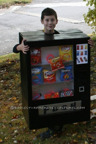 Boy's Awesome Vending Machine Costume