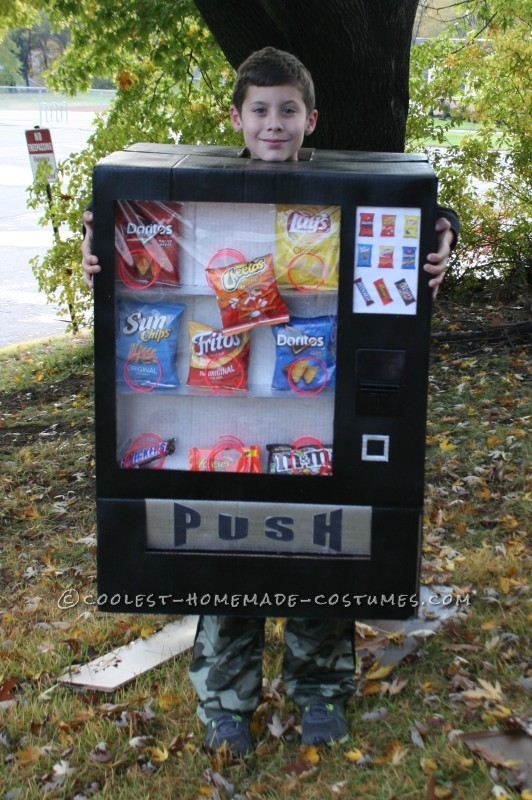 Boy's Awesome Vending Machine Costume - 2