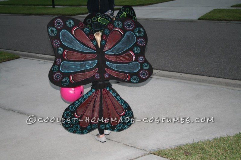 Cool Homemade Butterfly Costumes for Twin Toddler Girls