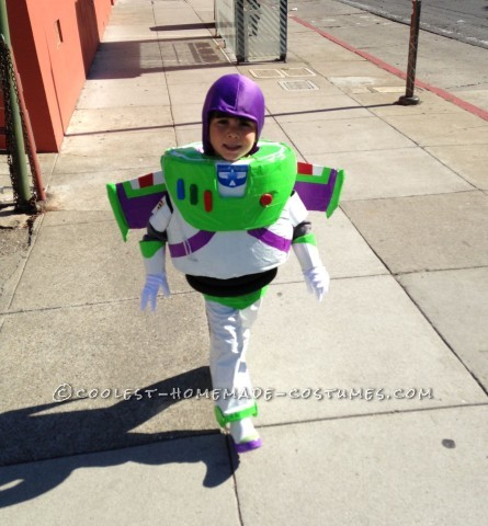 Coolest Buzz Lightyear Costume for Preschooler