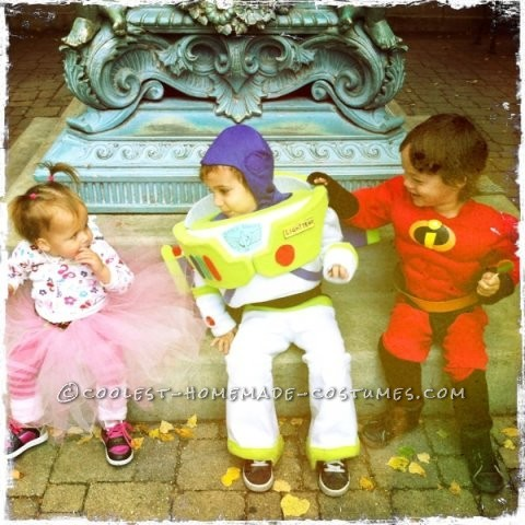 Cool Toddler DIY Halloween Costume: Buzz Lightyear Costume Like No Other Buzz!