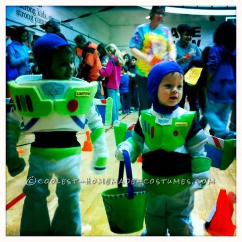 two Buzz Lightyears