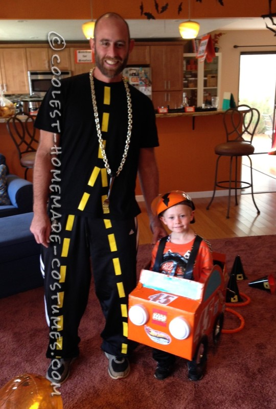 Cheap and Easy Car-Themed Family Halloween Costumes - 1