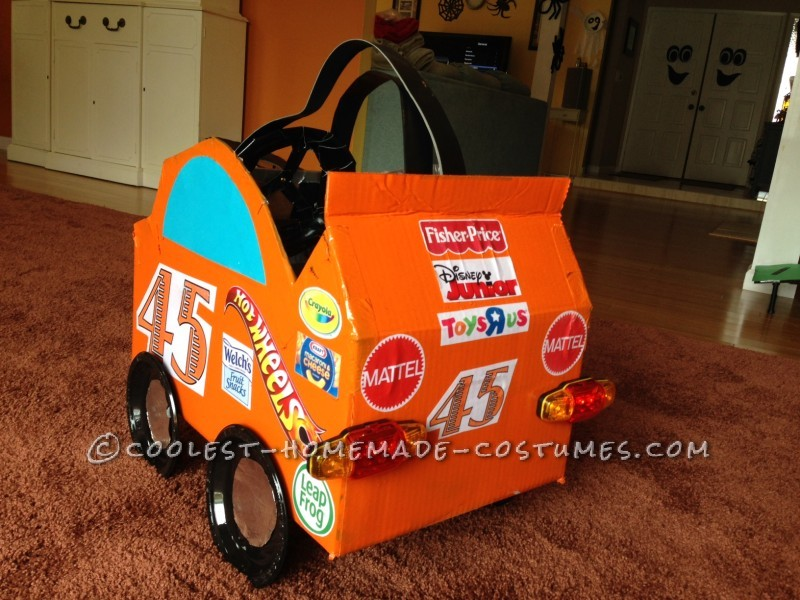 Cheap and Easy Car-Themed Family Halloween Costumes - 3