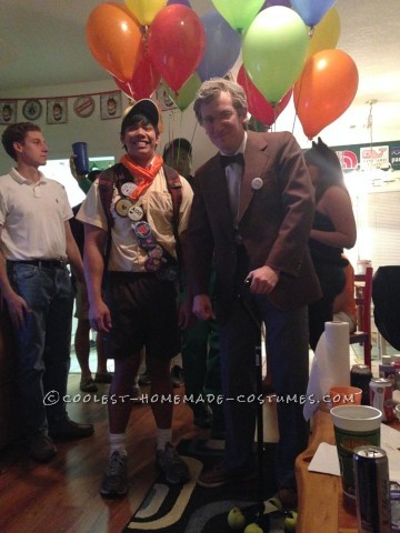 Cool Carl and Russell from Up Couple Halloween Costume