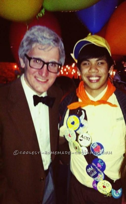 Cool Carl and Russell from Up Couple Halloween Costume - 1